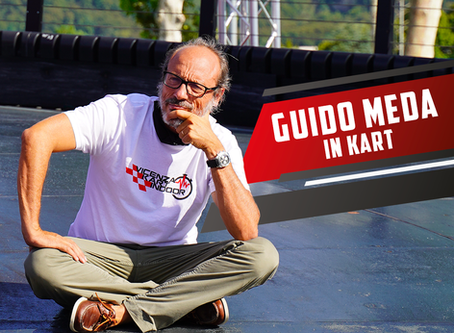 Guido Meda al VKI - Vicenza Kart Indoor