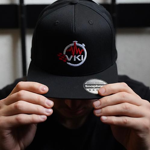 Snapback VKI Total Black | Logo
