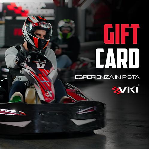Gift Card - Esperienza in Pista