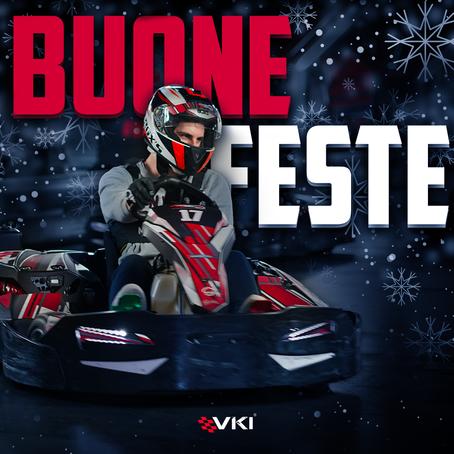 Buone Feste da VKI - Vicenza Kart Indoor