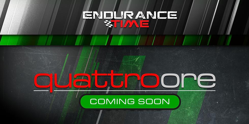 Endurance Time VKI | 4ore