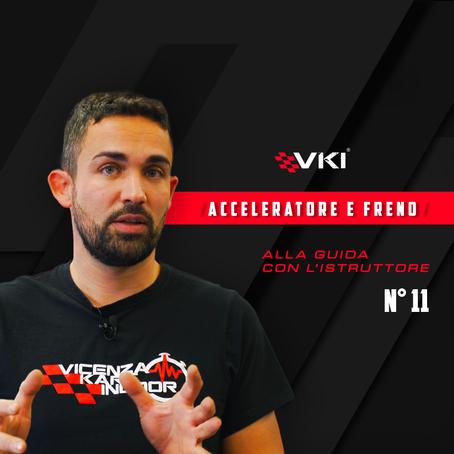 Come utilizzare acceleratore e freno in kart?