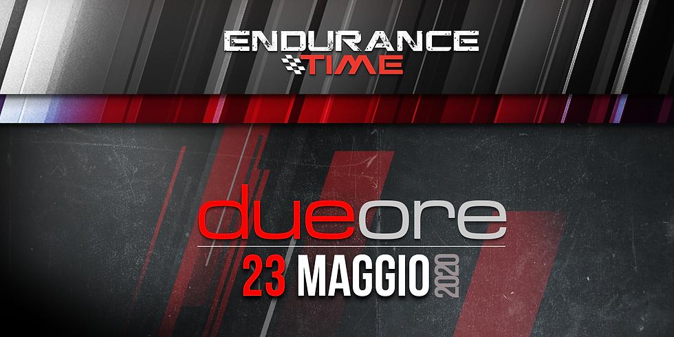 Endurance Time VKI   2ore