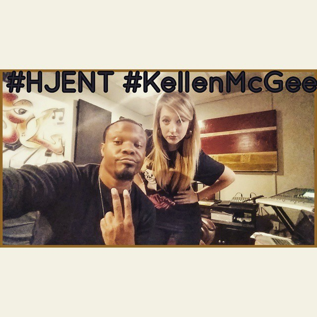 Instagram - #Studio #Session with @kellenmcgee #TheGenesoulMusicLab in #Hollywoo