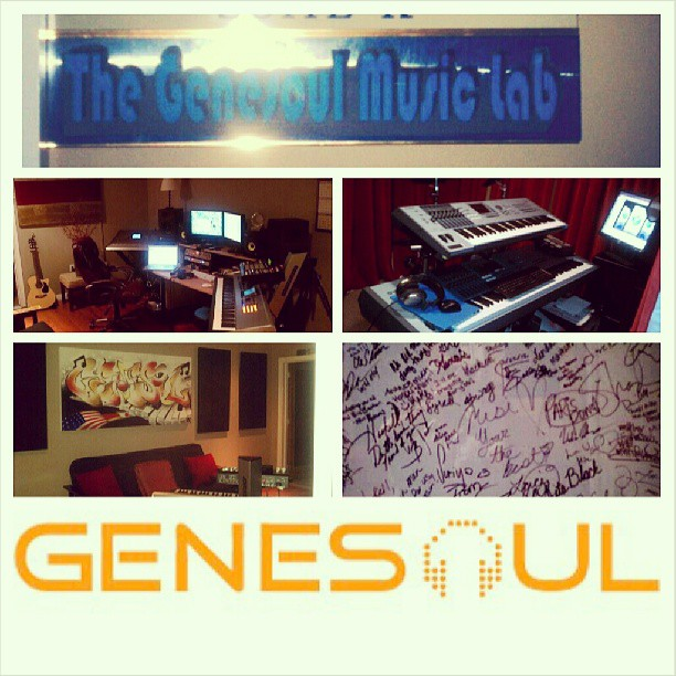 Instagram - The Genesoul Music Lab In Hollywood