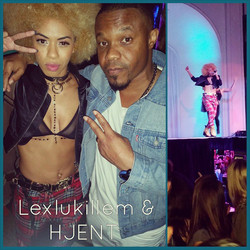 Instagram - @Hjent chillin with my girl @lexlukillem at #Boulevard3 in #Hollywoo