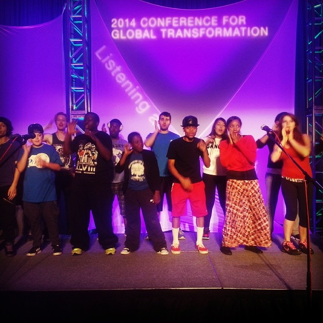 Instagram - #HJENT #HIPHOPCHOIR We showed up and put smiles on over 700 people f