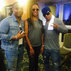 Instagram - #HJENT #GENESOUL @sparks5678 @mclyte  Shane Sparks and I With the le