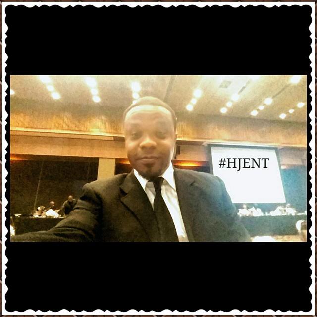Instagram - At my boy @andrefarr 2015 Innovative Entrepreneur Of The Year Black