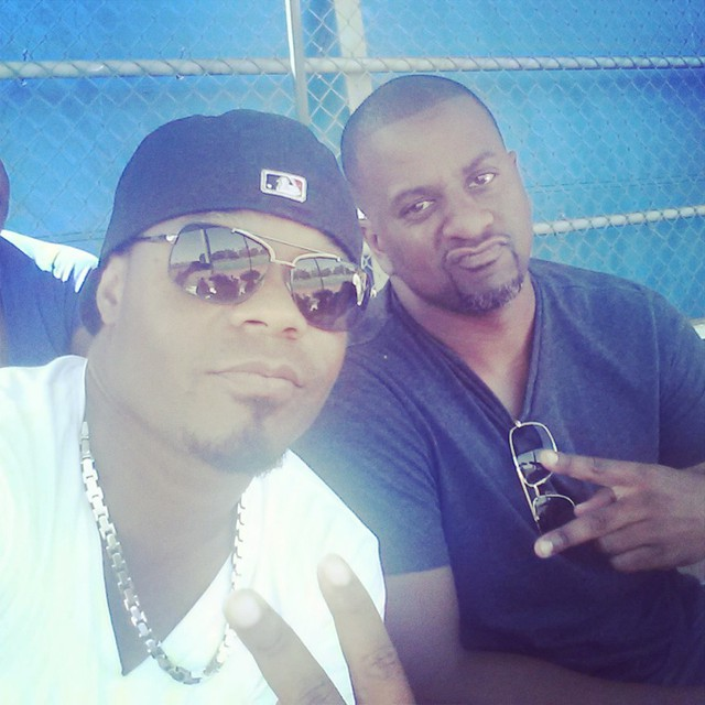 Instagram - #HASKELJACKSON @dbholmes Holmes #Boys Chillin at football game at th