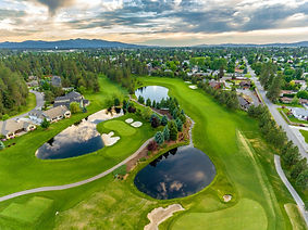 Golf Course   Drone Picture   Red Hog Media