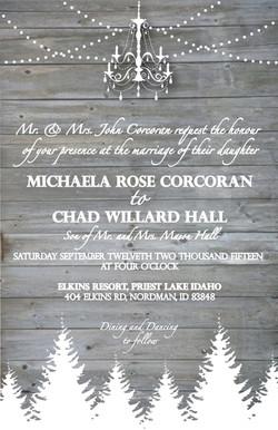 Hall Wedding Invitation-1
