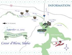 Wedding Informational Map