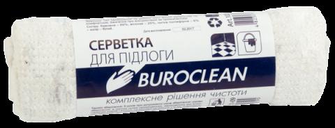 Серветка для підлоги б/п, 50х70см, біла, Buroclean