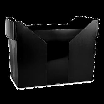 Картотека для підвісних файлів, пластик, чорна  7421001-01