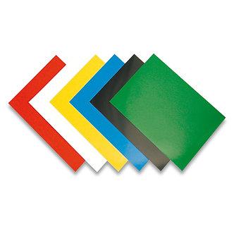 Обкладинки картонні А4 Chromo 200 мкм 100 шт/уп, глянцеві, колір асорті  f.53781