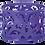 """Thumbnail: Підставка для скріпок """"BAROCCO"""", металева, BM.6222"""
