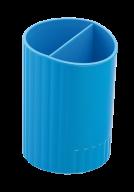 Стакан для ручок круглий на два відділення колір асорті BM6350