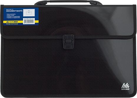 Портфель на 2 відділення F/C,чорний BM.3732-01