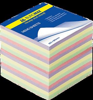 Блок паперу для нотаток ДЕКОР 90х90х70мм, не склеєний