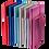 Thumbnail: Блокнот діловий INGOT 125x195мм, 80арк., кліт, обкл. зі шт. шк. BM.29912103