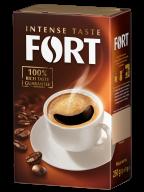 Кава мелена Fort, брікет 250г*12  ft.11106