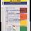 Thumbnail: Закладки пластик NEON 45x12мм, 5х20 арк, половинки, BM.2305-98