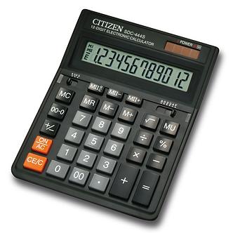 Калькулятор Citizen SDC-444S, 12 розрядів  SDC-444S