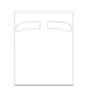 Накладки на унiтаз, 1/4, 200 шт (24 шт/ ящ) PRO SERVICE  pr.31200211