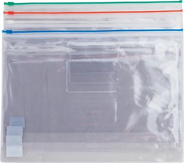 Папка-конверт А4, пластикова на блискавці, асорті BM.3946
