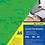 """Thumbnail: Обкладинки картонна """"під шкіру"""" А4, 250г/м2, (50шт./уп.) колір асорті BM.0580"""