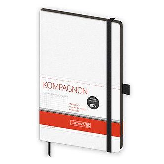 Книга записна Компаньйон чорн. А5 кл., крапка, лінія 10-559 28