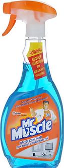 """Засіб для миття скла """"Містер Мускул"""" з розпил, 500 мл w01013"""