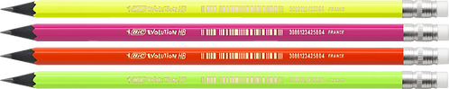 "Олівець ""EVOLUTION FLUO"", з гумкою, НВ  bc942882"