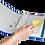 Thumbnail: Цифровий індекс - розділювач А4, 1-5, кольоровий, з аркушом опису 7704095