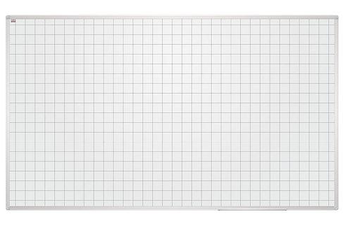 Дошки магнітно-маркерні в клітку в рамці ALU23 90х60 TSQ96