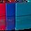 Thumbnail: Блокнот діловий TRAVEL LOGO2U А5, 96арк., клітинка, обк зі шту чної шк BM.295211