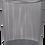 Thumbnail: Корзина для паперів кругла, металева, BM.6270