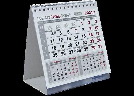 Календар настільний COMPACT 2021 р.  BM.2101