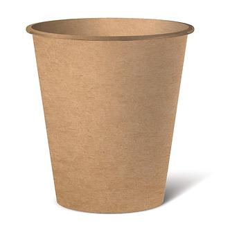 Стакан паперовий  175 мл, крафт 50шт  CUP175 Kraft