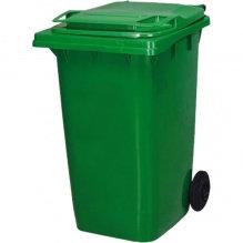 Контейнер для мусора уличный на колесах с крышкой, 240 л,72,5х57х107,5