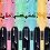 Thumbnail: Набір з 6-ти текст-маркерів PASTEL, з гумовими вставками, 2-4 мм  BM.8905-96