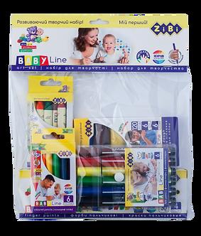 Набір подарунковий для дитячої творчості в прозорому пакеті, Baby Line ZB.9951