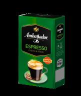 Кава мелена Ambassador Espresso, вак.уп. 225г*12 (PL)  am.52039