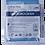 Thumbnail: Серветка мікрофібра для скла та дзеркал Buroclean 30х30
