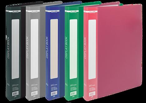Папка пластикова з 30 файлами А4 JOBMAX,  BM.3611