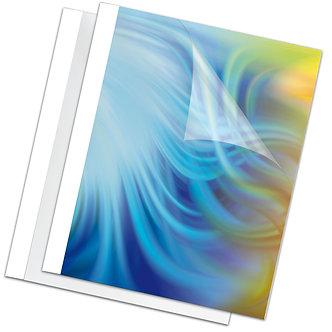 Обкладинки для термоброшурування Standing 8 мм, пластик, білі, А4 f.53912