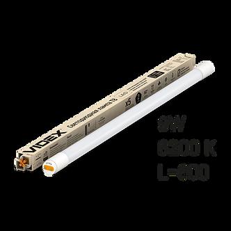 Лампа LED, 9W, 0.6M, 6200K, 220V, матова, VIDEX  VL-T8b-09066