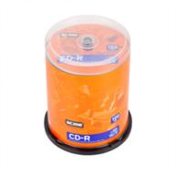 Диск CD-R, 700Mb, 52х, 80min, Cake (100) d.005282