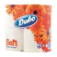 """Папір туалетний целюлозний """"Диво"""" Soft 150 відр., 4 рул  тп.дв4б"""